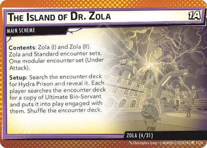 The Island of Dr. Zola
